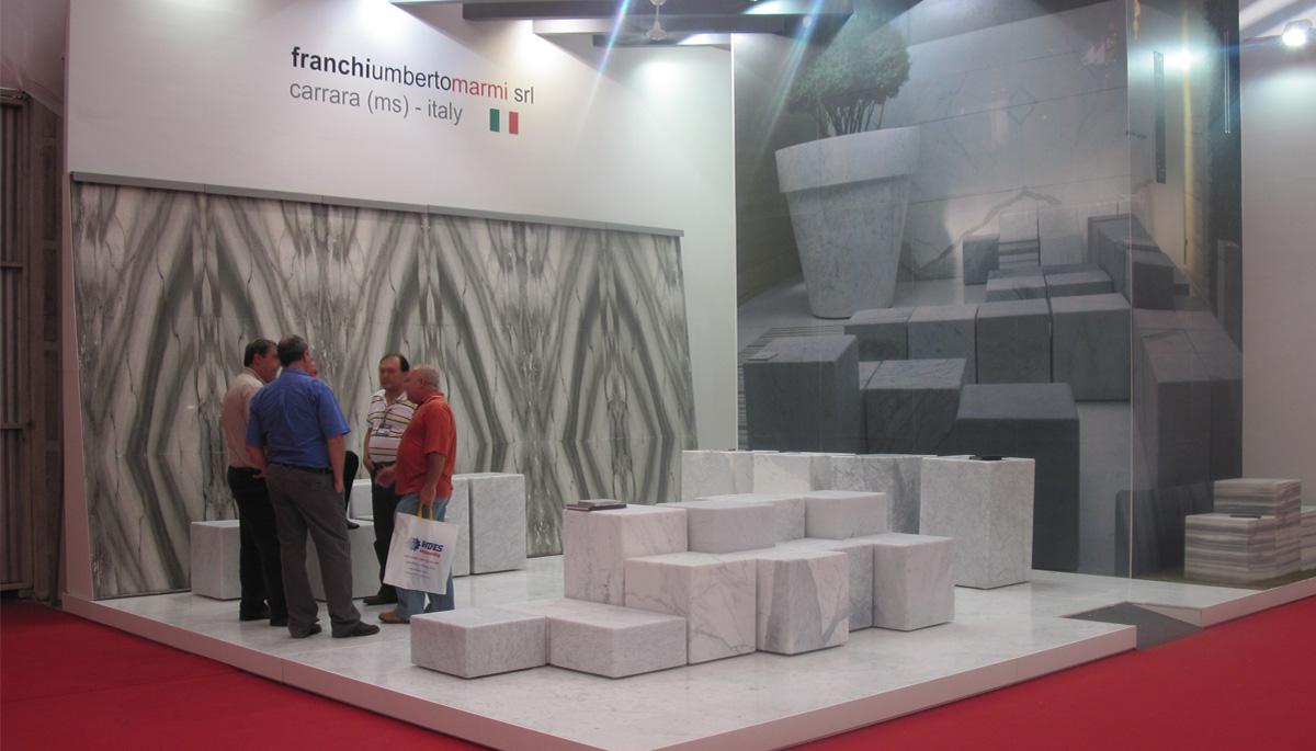 franchi umberto marmi – Vitòria Stone Fair 2009