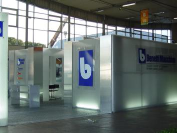 Benetti Macchine – Carrara Marmotec 2004